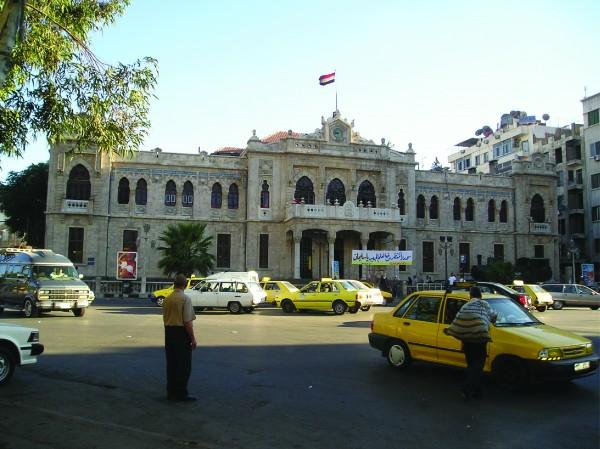 syria telecom project